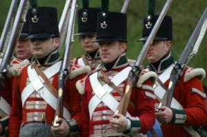 Redcaots at the International Napoleonic Fair