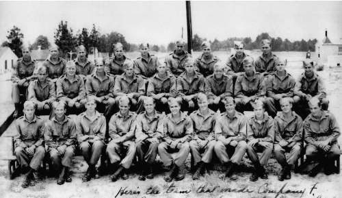 Officers and NCO's 1943