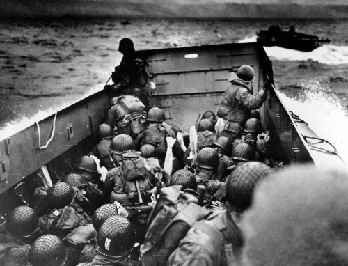 WWII D–DAY NORMANDY INVASION