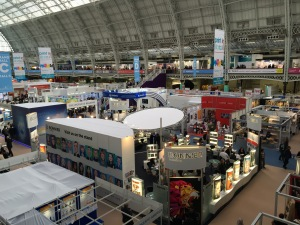 View from the gallery LBF 2016