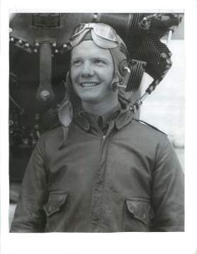 5.40 Ray Brim 19 years old Rankin Air academy in Tulare, CA 1942