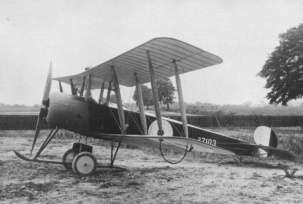 1. Avro 504K,UK